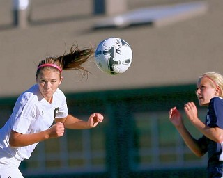 Girls Soccer Notches League Win