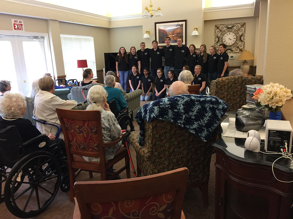 2017-04-17 Northern Oregon Coast Jazz Choir Tour