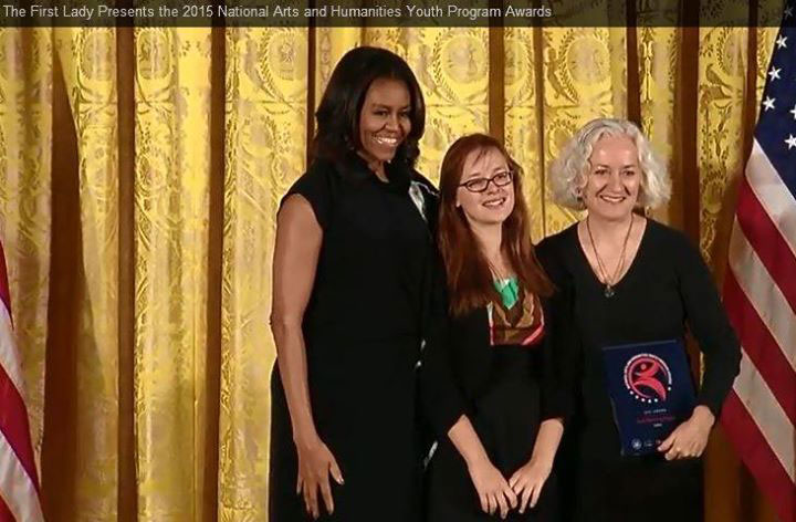 2015-11-19 Student Visits the White House
