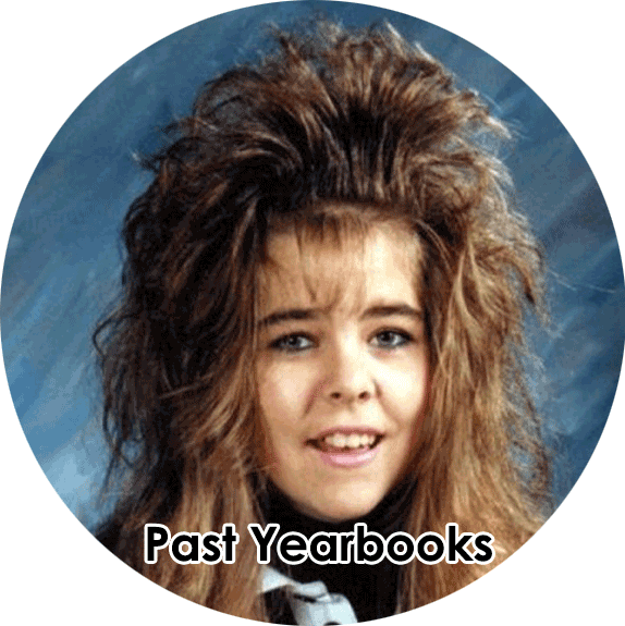 Past Yearbooks button